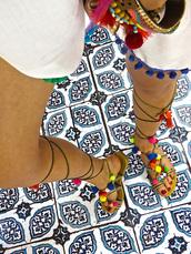 shoes,pom poms,sandals,fashion,elikshoe,ewelina_bednarz,kolekcjonerka_butow,elina,outfit,sexy