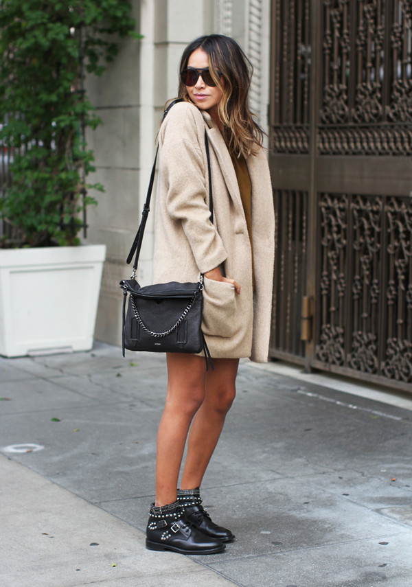 0c165f1b05 sincerely jules, blogger, bag, sunglasses, coat, ankle boots ...