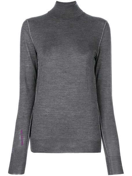 GOLDEN GOOSE DELUXE BRAND sweater women turtle grey