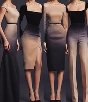 jumpsuit,ombre jumpsuit,ombre dress,designer jumpsuit