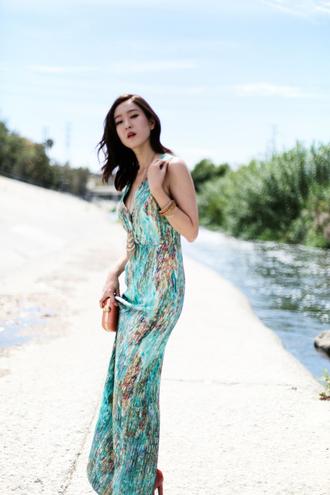 her imajination blogger dress sundress maxi dress