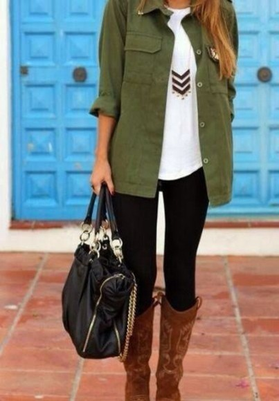 button up jacket fall outfits militaryjacket military green fall jacket