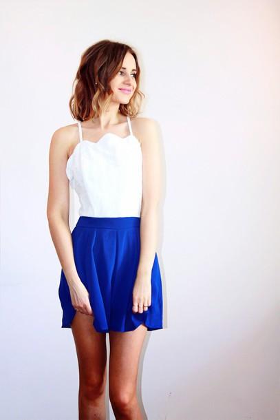 5da73b908a11 jumpsuit blue and white white and blue dress blue skirt backless backless  dress backless white dress