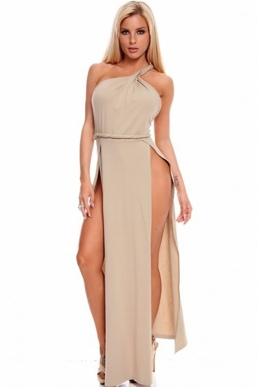 Lethalbeauty ? high split maxi dress