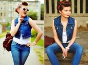 jeans,romwe,romwe jeans,denim,blue,zip