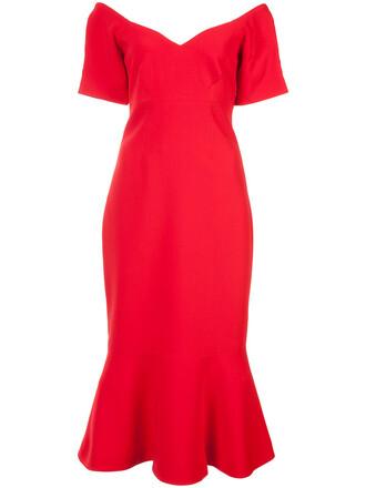dress women red