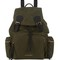 Large gabardine backpack