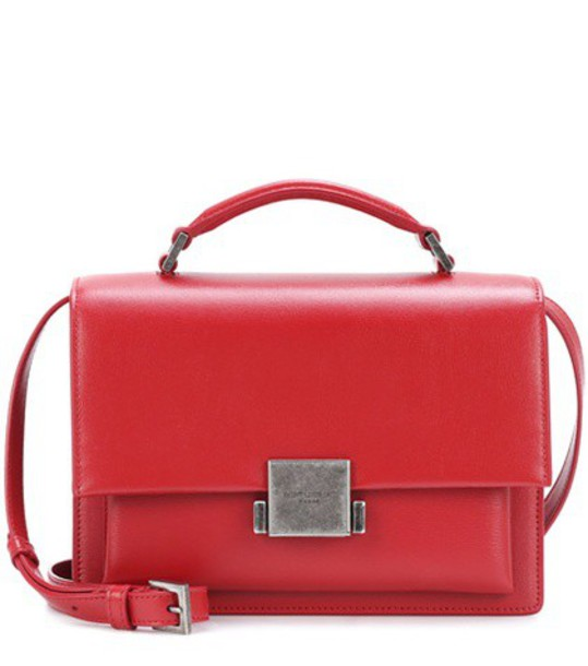 Saint Laurent bag shoulder bag leather red