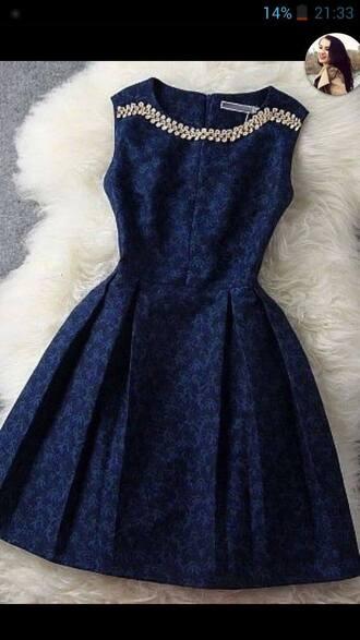 dress dress$ blue dress jewels