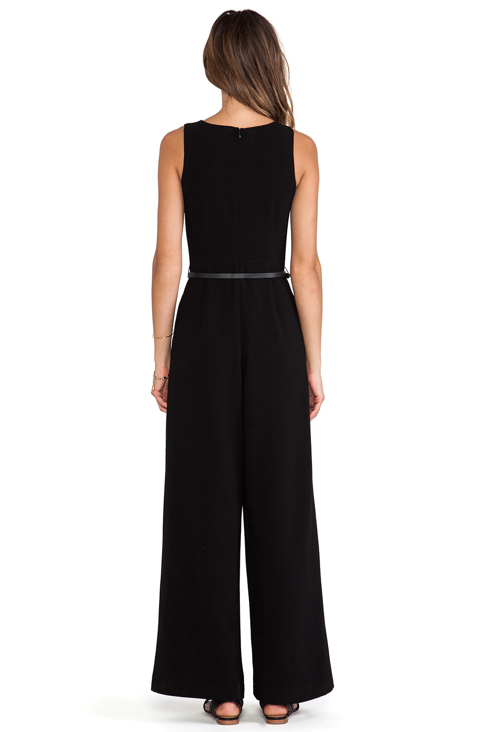 Lovers   Friends x Monica Rose Brighton Jumpsuit in Black | REVOLVE