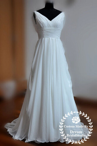 dress wedding dress white dress bridal gown beach wedding dress bridal wedding dress vintage wedding dress