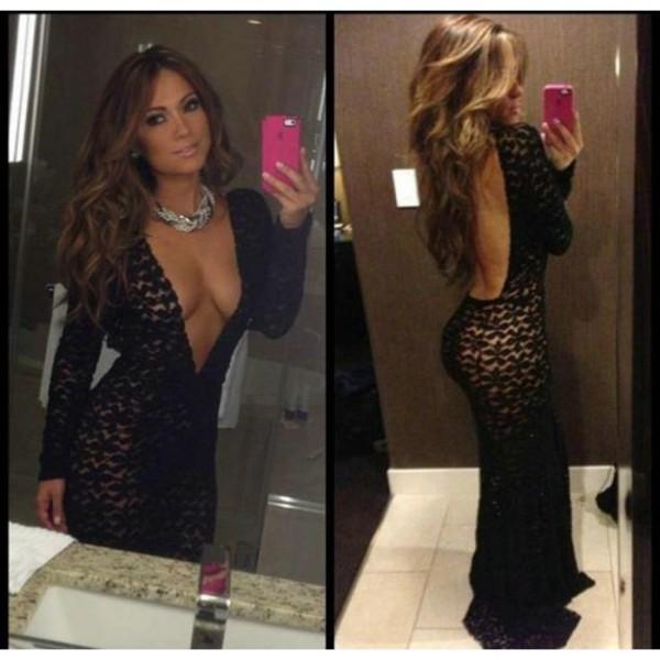 dress backless low back dress maxi dress