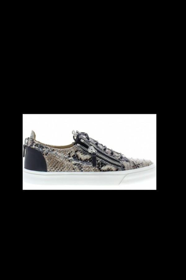 shoes snake crocodile leather sneakers giuseppe zanotti