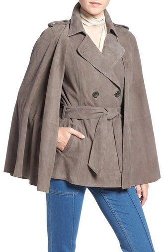 jacket olivia palermo trench coat vest cape