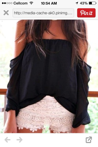 blouse black blouse summer outfits