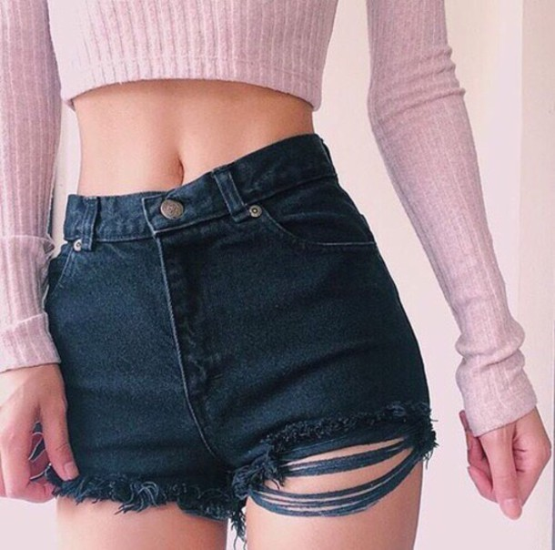 Think, Girl in jean shorts tumblr god