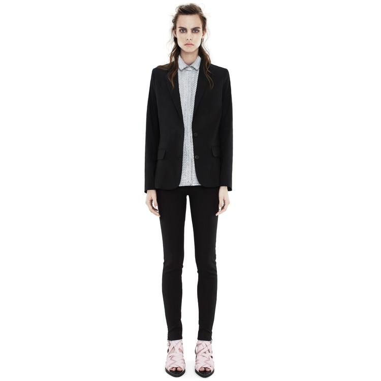 Acne Studios - Cindy stretch black - Suit jackets - SHOP WOMAN - Shop Shop Ready
