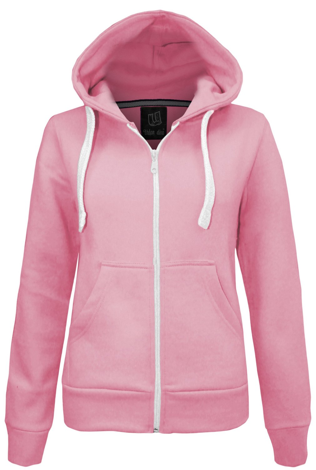 Candy Floss Ladies Hoodie Sweatshirt Fleece Jacket Top
