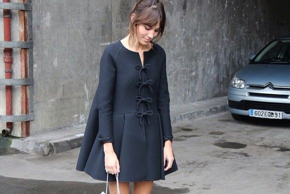 alexa chung dress black little black dress mini dress