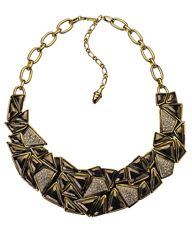 Kenneth Jay Lane Rocky Road Bib Necklace - Max and Chloe