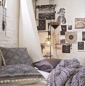 home accessory,pillow,creative pillows designs,bedroom,popular bedrooms,indie boho,boho,bohemian,hipster,decorative cushions,bedding,duvet,home decor,duvet set,optical,grey,urban outfitters