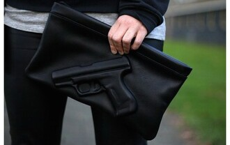 bag revolver black wallet wallet
