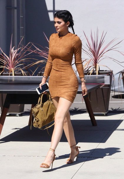 Dress Kylie Jenner Kylie Jenner Dress Fall Dress Fall Outfits Suede Fashion Style Luxury