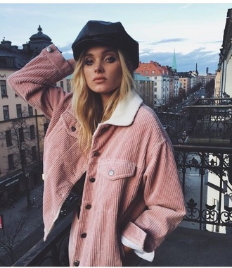 jacket denim jacket denim pink