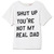 Shut Up You're Not My Real Dad Tee by Ashish - Moda Operandi