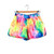 Tie Dye Rainbow Beach Running Shorts – LittleByLittle