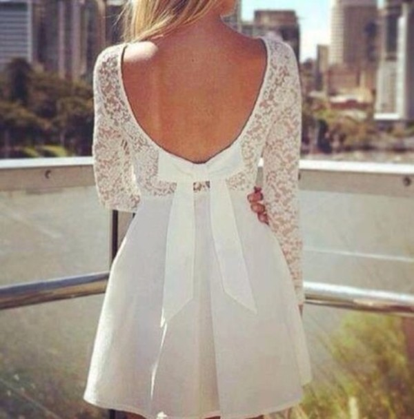 dress lace dress white dress