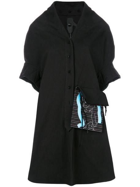 Bernhard Willhelm dress women cotton black