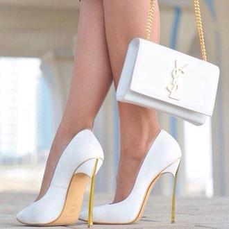 shoes bag yves saint laurent