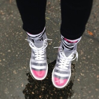 clear boots boots shoes style trendy