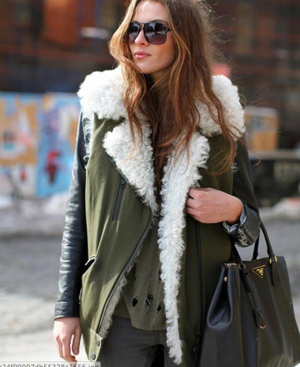 Women S Oversized Faux Shearling Fur Jacket Loose Fit Coat