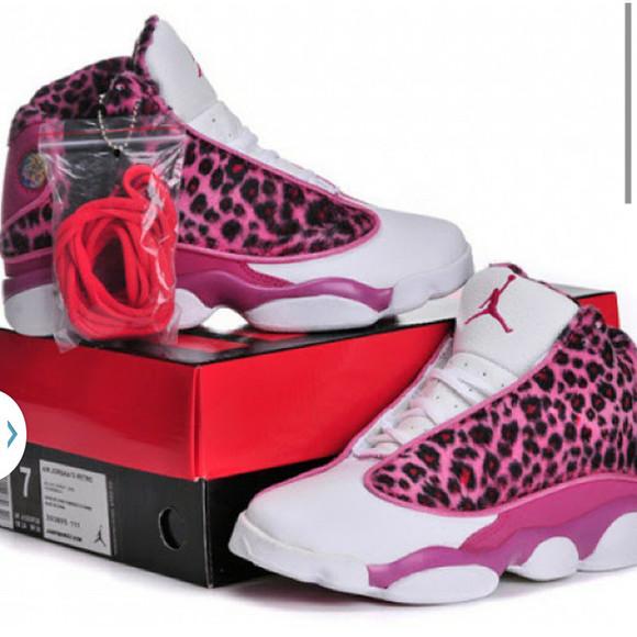 animal print jordan's sneakers