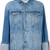 Frame Denim - boxy denim jacket - women - Cotton - XS, Blue, Cotton