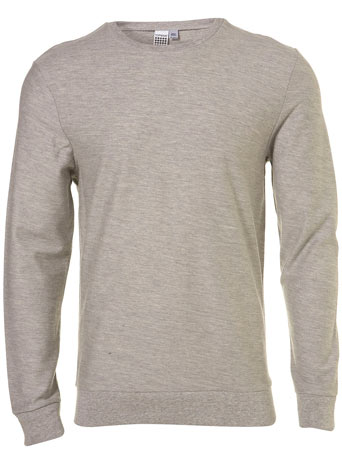 Grey lightweight sweatshirt