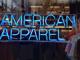home accessory light blue lighting american apparel