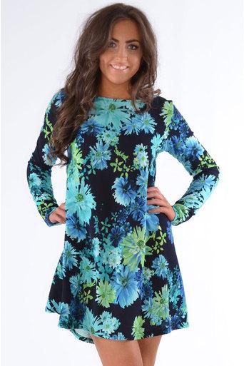 Neon blue dress uk