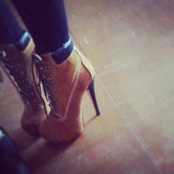 shoes timberlands boots brown high heels suede boots