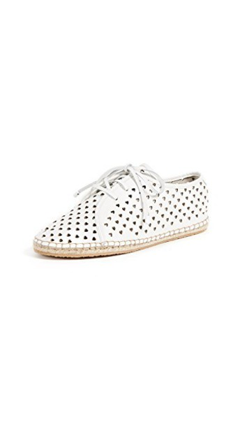 Zimmermann heart espadrilles lace white shoes