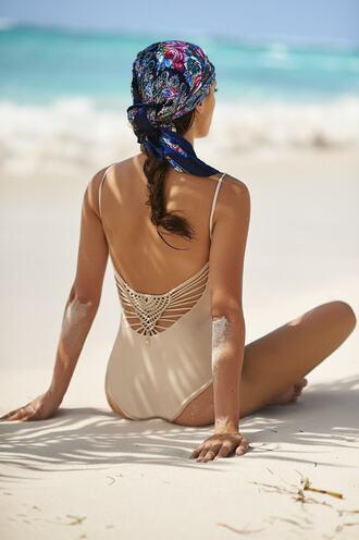 swimwear gold malai swimwear one piece swimsuit bikiniluxe