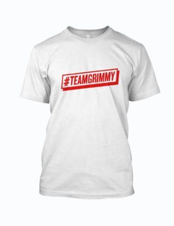 Team Grimmy T shirt: Amazon.co.uk: Clothing
