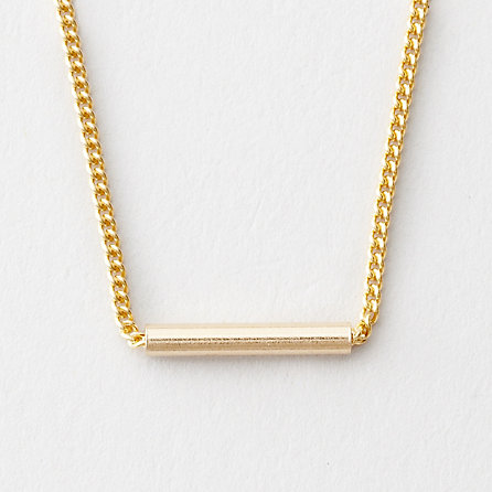 Gabriela Artigas Gold Cylinder Necklace | Womens Jewelry | Steven Alan