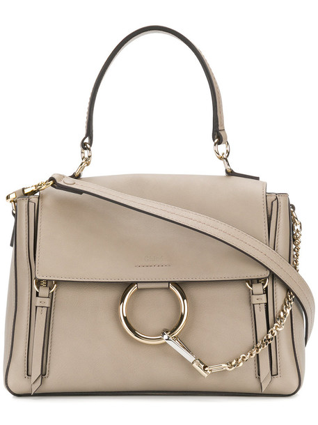 Chloe women bag leather nude