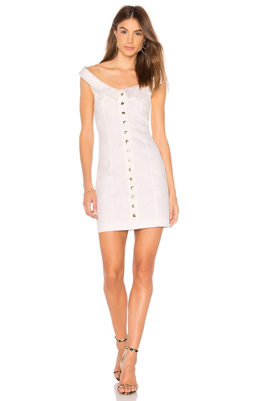 Clayton Benton Dress in white