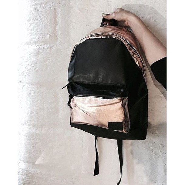 bc60f8d1fe bag backpack black and gold gold black black backpack gold backpack  rucksack black and gold backpack