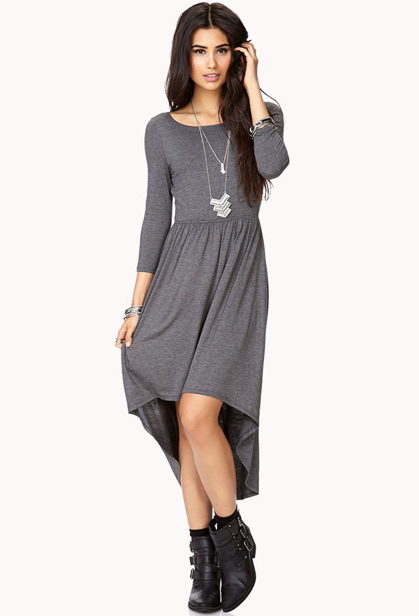 favorite high low dress forever21   2000073076