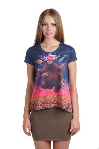 t-shirt print t-shirt prited animal print animals bear fusion sweatshirts girl girl and closet fusion clothing fusion sexy sweaters fusion fashion